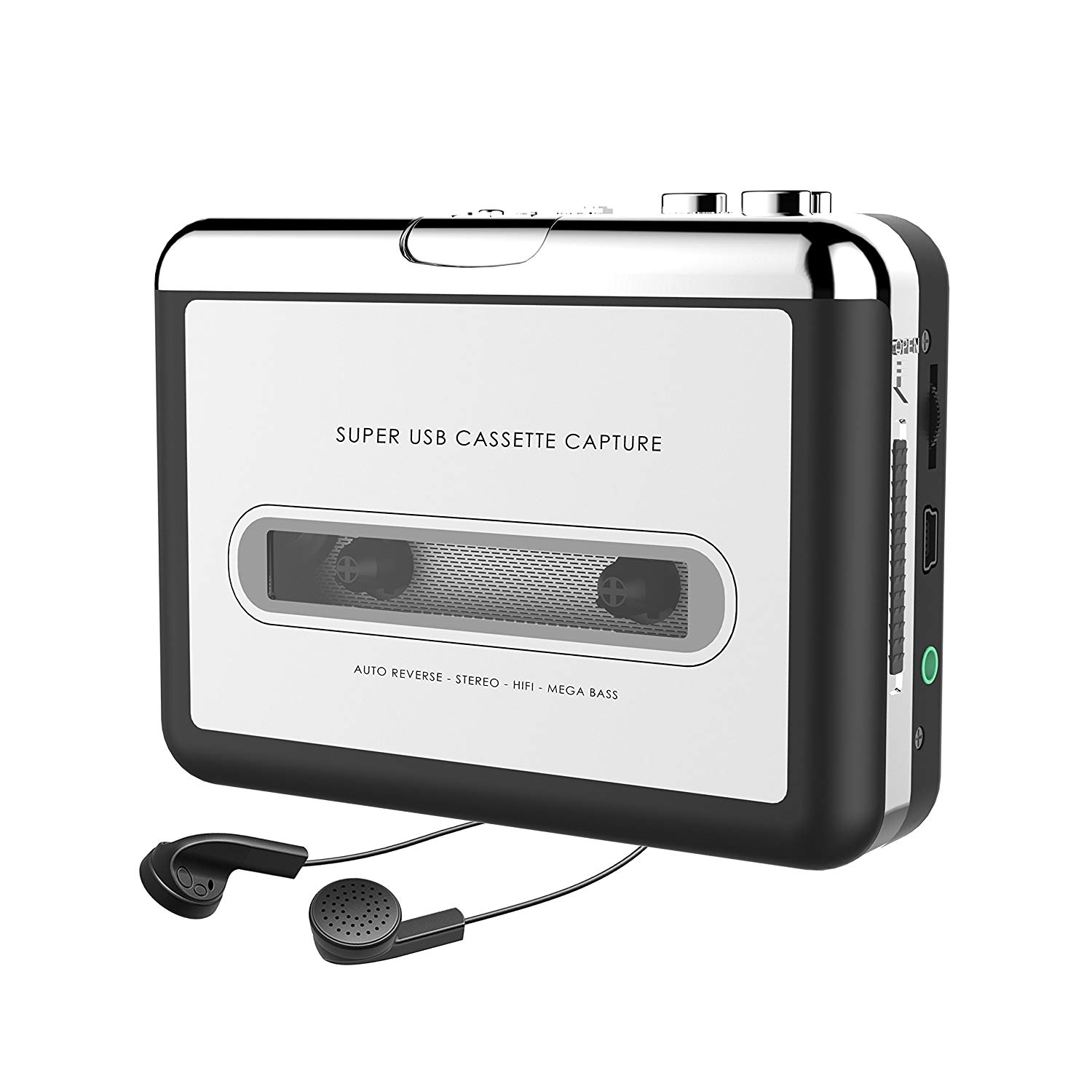 Inatuur 2000 Cassette Tape to MP3 Converter