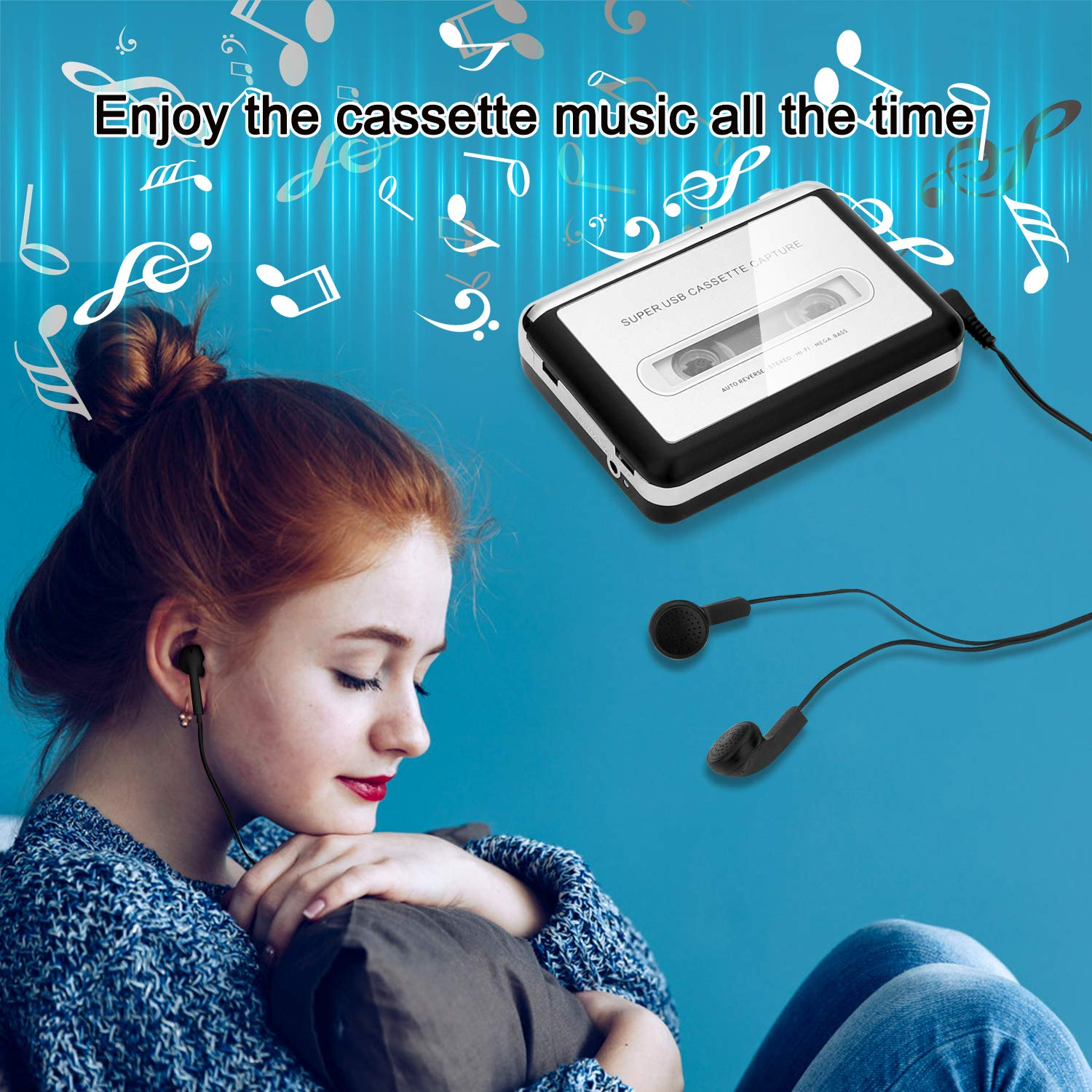 5 best cassette tape to mp3 converter